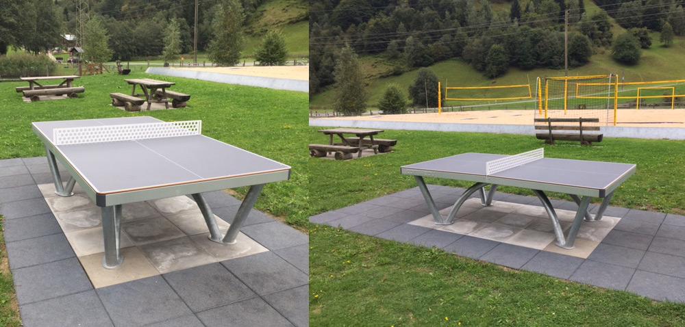 Tischtennissport - Beach Sport Plaun Petschen