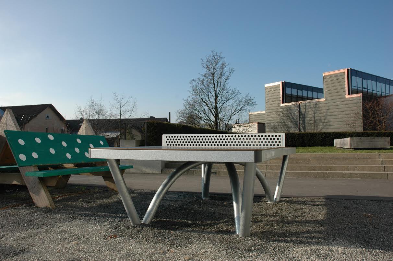 Besser als ein Betontischtennistisch: Parktisch in Steinhausen