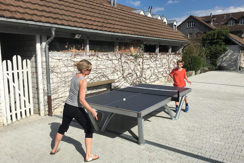Park Tischtennistisch mit Competition Netz an der Mettlenstrasse 20b in 8330 Pfäffikon