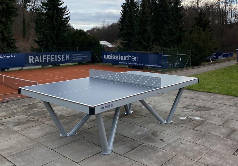 Tischtennistisch Outdoor im Tennisclub Bassersdorf