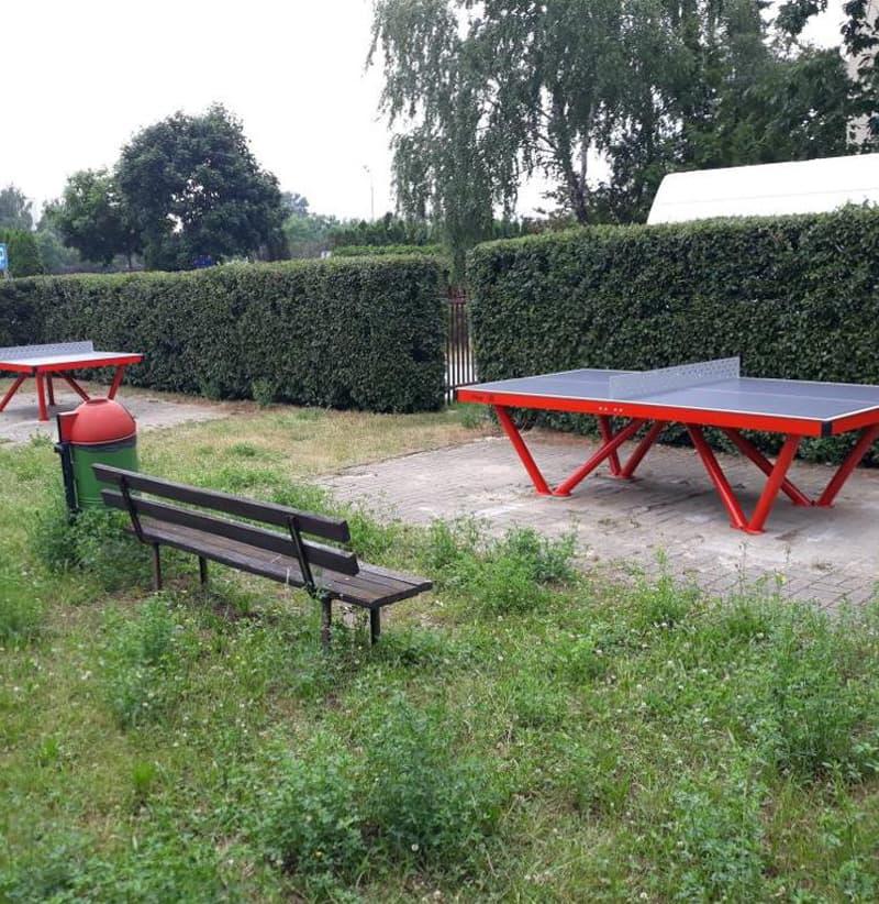 Farbiger Outdoor Tischtennistisch in Zürich